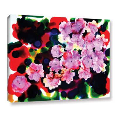 Brushstone Blooming Gallery Wrapped Canvas Wall Art