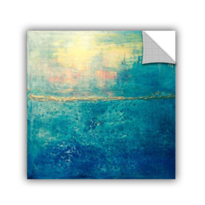 Brushstone Blue Horizons Removable Wall Decal