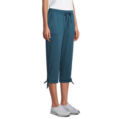 St. John's Bay Regular Slim Leg Active Capri - Tall Inseam 22.25""