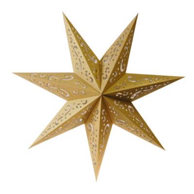 Paper Lantern- 7 Point Star (Set of 3)