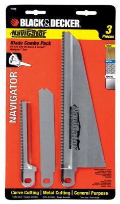 Black & Decker Power Tools 74-598 Navigatorª Blade Combo Pack