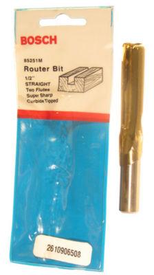 Bosch 85251M Straight Router Bit