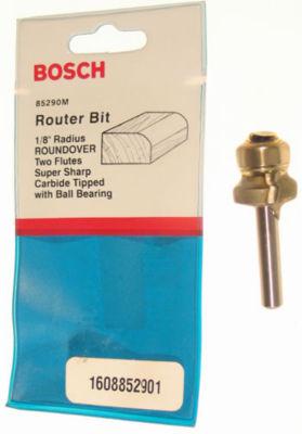 """Bosch 85290M 1/8"""" Roundover Router Bit Double Flute"""""""