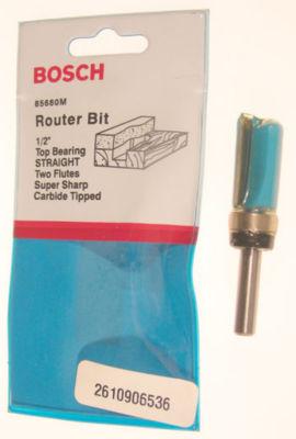 Bosch 85680M Straight Router Bit Double Flute