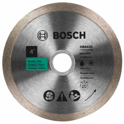 "Bosch Db4542S 4-1/2"" Diamond Standard Turbo Rim Blade"""