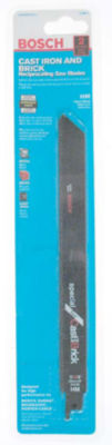 Bosch Rcb9G-2 Cast Iron & Brick Reciprocating SawBlade
