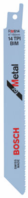 Bosch Rm614 6IN Metal Reciprocating Saw Blade 5 Count
