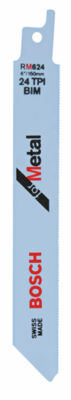 Bosch Rm624 6IN Metal Reciprocating Saw Blade 5 Count