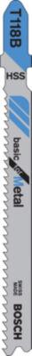 "Bosch T118B T-Shank Metal  Jig Saw Blades 3 5/8"""