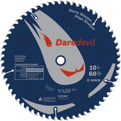 Daredevil Dcb1060 10IN 60 Tpi Daredevil Blade ForTable & Miter Saws