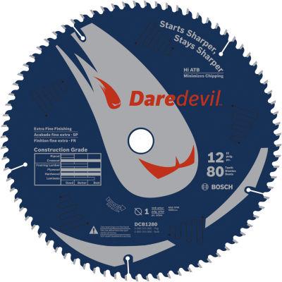 Daredevil Dcb1280 12IN 80 Tpi Daredevil Blade ForTable & Miter Saws