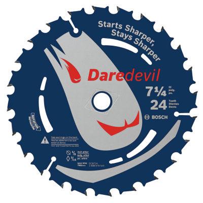 Daredevil Dcb724C10 7-1/4IN 24 Tpi Daredevil BladeFor Portable Saws