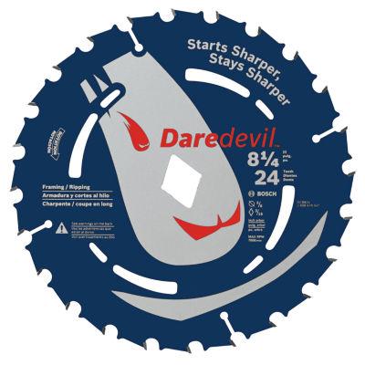 Daredevil Dcb824 8-1/4IN 24 Tpi Daredevil Blade For Portable Saws