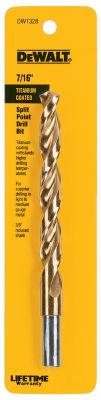 Dewalt DW1328 7/16IN Titanium Split Point Drill Bit