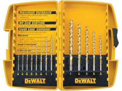 Dewalt DW1363 13 Piece Titanium Drill Bit Set