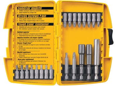 Dewalt Dw2161 21 Piece Tough Case Power Bit Set