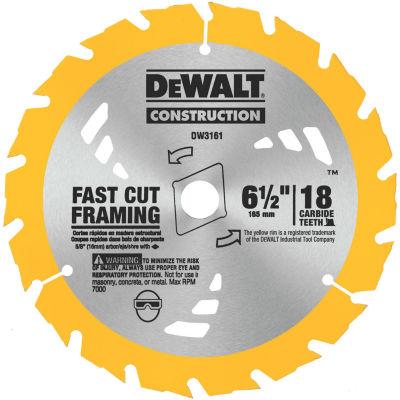 """Dewalt Dw3161 6-1/2"""" Fast Cutting Circular Saw Blade"""""""