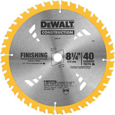 Dewalt Dw3184 8-1/4IN Finishing Circular Saw Blade
