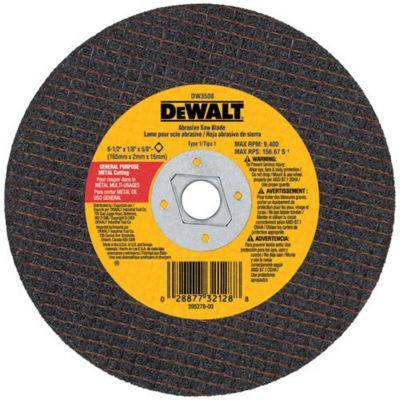 Dewalt Dw3511 7IN Abrasive Circular Saw Blades