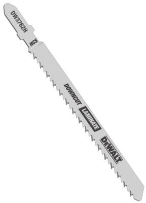 Dewalt Dw3762-5 4IN 10 Tpi Wood Cutting T-Shank Jig Saw Blades