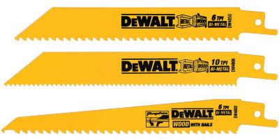 Dewalt Dw4853 3 Piece 6IN Multi Cutting Reciprocating Saw Blade Set