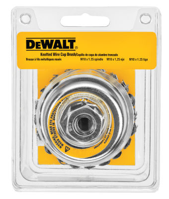 "Dewalt Dw4916 4"" Knotted Cup Brush"""
