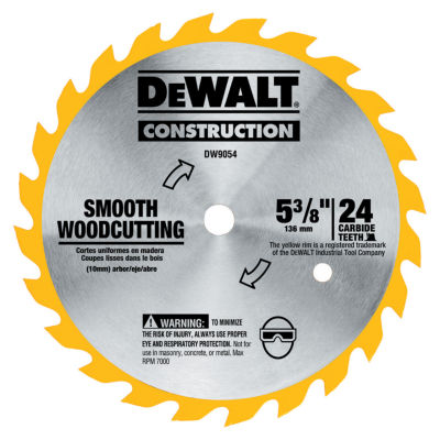 Dewalt Dw9054 5-3/8IN Cordless Circular Saw Blade