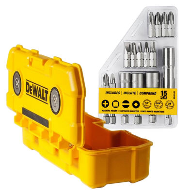Dewalt Dwmtc15 Magnetic Bit Set 15 Count