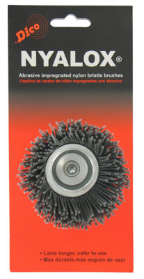 Dico 7200005 2-1/2IN Extra-Coarse Nyalox Cup WireBrush