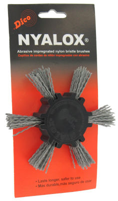Dico 7200033 4IN Extra Coarse Nyalox Flap Wire Brush