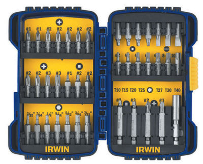 Irwin 3057018 40 Piece Screwdriver Bit Set