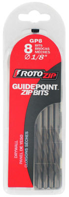 "Rotozip Gp8 1/8"" Guidepointª Zip¨ Bits 8 Count"""