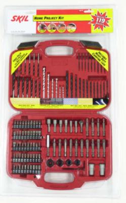 Skil 90119 119 Piece Home Drill Bit Set