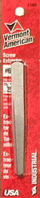 Vermont American 21866 #6 Straight Flute Screw Extractors