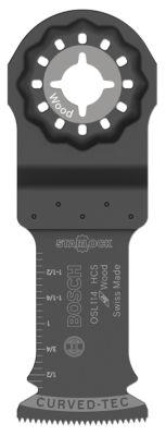 "Bosch Osl114 1-1/4"" X 4"" Starlockª High-Carbon Steel Plunge Cut Blade"""