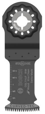 """Bosch Osl114Jf 1-1/4"""" X 4"""" Starlockª Bi-Metal Xtra Clean Plunge Cut Blade"""""""