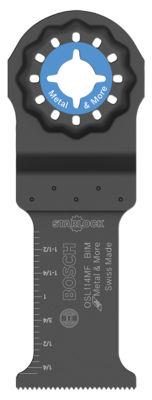 Bosch Osl114Mf 1-1/4IN X 4IN Starlock Bi-Metal Plunge Cut Blade