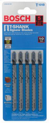 """Bosch T101B T-Shank Wood Jig Saw Blades 4"""""""