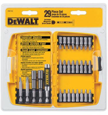 Dewalt DW2162 29 Piece Screwdriving Set With ToughCaseª