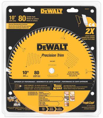 Dewalt Dw3218Pt 10IN 80 Teeth Trim Saw Blade