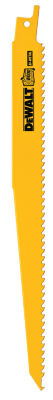 "Dewalt Dw4803B25 9"" 6 Tpi Reciprocating Saw Blade"""