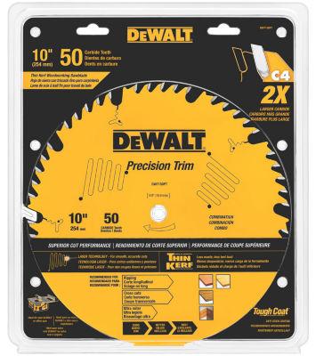 """Dewalt Dw7150Pt 10"""" 50 Tpi Trim Saw Blade"""""""