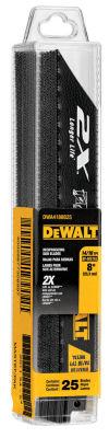 Dewalt Dwa4188B25 8IN 14 To 18 Tpi Reciprocating Saw Blade