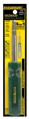 Eazy power 87598 4 In 1 5/16IN Hex Molded Green Screwdriver