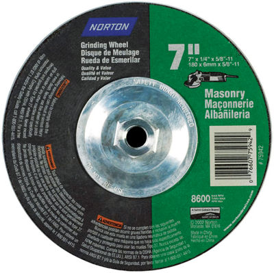 Norton 75942 7IN X 14IN Grinding Wheel