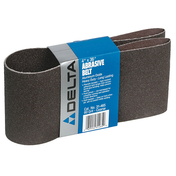 Porter Cable 31-465 4IN X 36IN 60 Grit Abrasive Sander Belt
