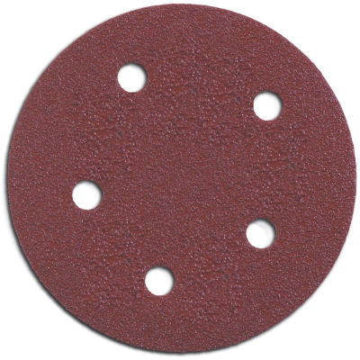 "Porter Cable 735500805 5"" Hook & Loop Abrasive Discs 5 Count"""