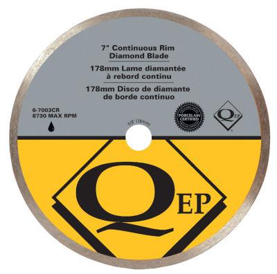 Qep 6-7003Q 7IN Continuous Rim Diamond Saw Blade