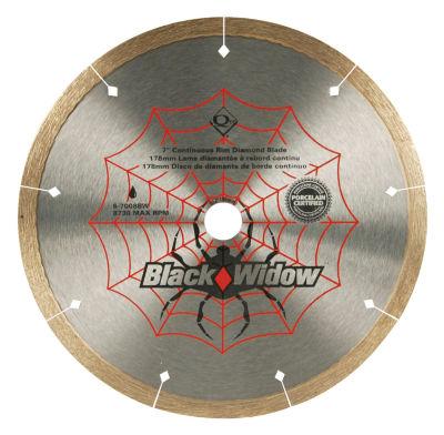 """Qep 6-7008Bw 7"""" Black Widow Saw Blade"""""""