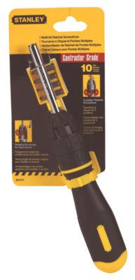 Stanley Hand Tools 68-010 10 In 1 Multi Bit Ratchet Screwdriver